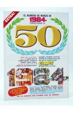 Contracubierta de HISTORIA DE LOS COMICS FASCÍCULO 7. EL MUNDO DE DISNEY (Vvaa) Toutain 1982
