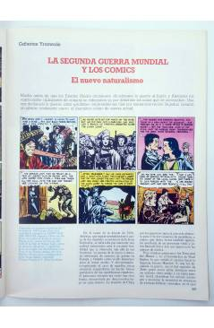 Muestra 2 de HISTORIA DE LOS COMICS FASCÍCULO 8. LOS HÉROES SE VAN A LA GUERRA (Vvaa) Toutain 1982