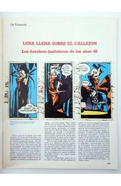 Muestra 1 de HISTORIA DE LOS COMICS FASCÍCULO 9. UN ALUD DE SUPERHOMBRES (Vvaa) Toutain 1982. CON POSTER