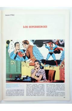 Muestra 2 de HISTORIA DE LOS COMICS FASCÍCULO 9. UN ALUD DE SUPERHOMBRES (Vvaa) Toutain 1982. CON POSTER