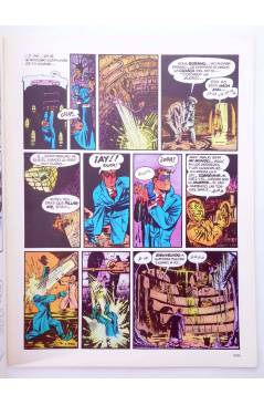 Muestra 3 de HISTORIA DE LOS COMICS FASCÍCULO 9. UN ALUD DE SUPERHOMBRES (Vvaa) Toutain 1982. CON POSTER
