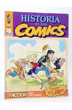 Cubierta de HISTORIA DE LOS COMICS FASCÍCULO 10. LA ACCIÓN INUNDA LA VIDA COTIDIANA (Vvaa) Toutain 1982
