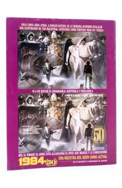 Contracubierta de HISTORIA DE LOS COMICS FASCÍCULO 10. LA ACCIÓN INUNDA LA VIDA COTIDIANA (Vvaa) Toutain 1982
