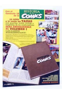 Contracubierta de HISTORIA DE LOS COMICS FASCÍCULO 11. NUEVOS CAMINOS (Vvaa) Toutain 1982