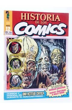 Cubierta de HISTORIA DE LOS COMICS FASCÍCULO 12. UNA ACTITUD CRÍTICA (Vvaa) Toutain 1982