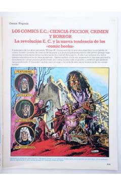 Muestra 1 de HISTORIA DE LOS COMICS FASCÍCULO 12. UNA ACTITUD CRÍTICA (Vvaa) Toutain 1982