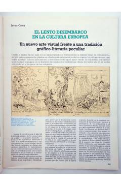 Muestra 1 de HISTORIA DE LOS COMICS FASCÍCULO 13. LOS COMICS EUROPEOS (Vvaa) Toutain 1982. CON POSTER