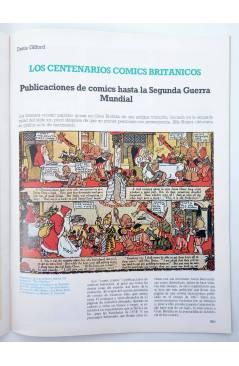 Muestra 2 de HISTORIA DE LOS COMICS FASCÍCULO 13. LOS COMICS EUROPEOS (Vvaa) Toutain 1982. CON POSTER