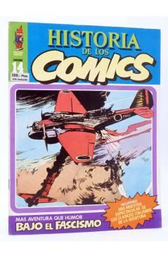 Cubierta de HISTORIA DE LOS COMICS FASCÍCULO 14. BAJO EL FASCISMO (Vvaa) Toutain 1982