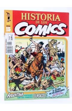 Cubierta de HISTORIA DE LOS COMICS FASCÍCULO 15. CLÁSICOS DE ARGENTINA (Vvaa) Toutain 1982
