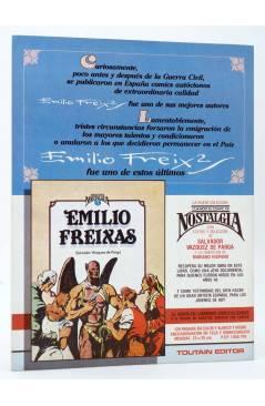 Contracubierta de HISTORIA DE LOS COMICS FASCÍCULO 15. CLÁSICOS DE ARGENTINA (Vvaa) Toutain 1982