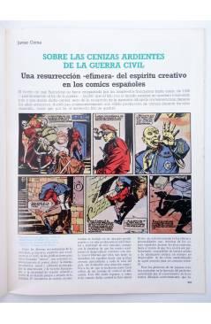 Muestra 2 de HISTORIA DE LOS COMICS FASCÍCULO 16. LA GUERRA CIVIL (Vvaa) Toutain 1982
