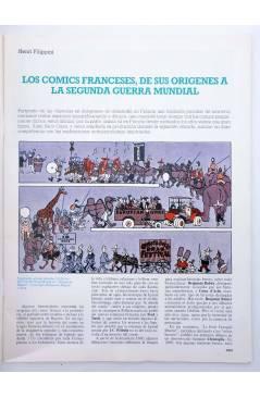 Muestra 1 de HISTORIA DE LOS COMICS FASCÍCULO 17. TENDENCIAS FRANCO BELGAS. TINTIN (Vvaa) Toutain 1982