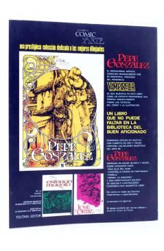 Contracubierta de HISTORIA DE LOS COMICS FASCÍCULO 19. TIRAS BRITÁNICAS (Vvaa) Toutain 1982