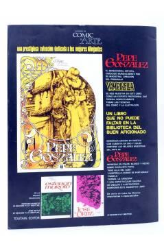 Contracubierta de HISTORIA DE LOS COMICS FASCÍCULO 21. GRAN BRETAÑA. JEFF HAWKE (Vvaa) Toutain 1982