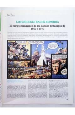 Muestra 1 de HISTORIA DE LOS COMICS FASCÍCULO 21. GRAN BRETAÑA. JEFF HAWKE (Vvaa) Toutain 1982