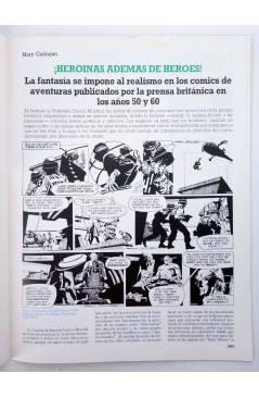 Muestra 2 de HISTORIA DE LOS COMICS FASCÍCULO 21. GRAN BRETAÑA. JEFF HAWKE (Vvaa) Toutain 1982