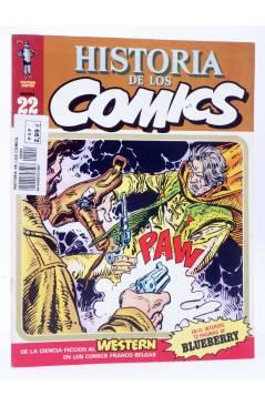 Cubierta de HISTORIA DE LOS COMICS FASCÍCULO 22. WESTERN. BLUEBERRY (Vvaa) Toutain 1982