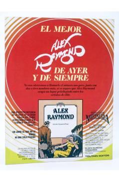 Contracubierta de HISTORIA DE LOS COMICS FASCÍCULO 22. WESTERN. BLUEBERRY (Vvaa) Toutain 1982