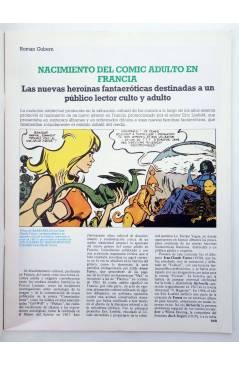 Muestra 1 de HISTORIA DE LOS COMICS FASCÍCULO 24. RECONOCIMIENTO CULTURAL Y EROTISMO (Vvaa) Toutain 1982