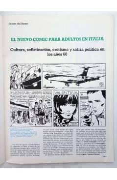 Muestra 2 de HISTORIA DE LOS COMICS FASCÍCULO 24. RECONOCIMIENTO CULTURAL Y EROTISMO (Vvaa) Toutain 1982