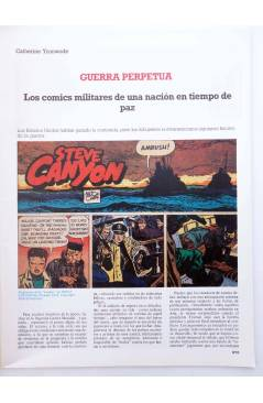Muestra 1 de HISTORIA DE LOS COMICS FASCÍCULO 25. LA GUERRA. STEVE CANYON (Vvaa) Toutain 1982