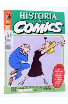 Cubierta de HISTORIA DE LOS COMICS FASCÍCULO 27. RENACIMIENTO DEL HUMOR EN LA PRENSA (Vvaa) Toutain 1982