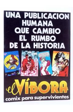 Contracubierta de HISTORIA DE LOS COMICS FASCÍCULO 30. LA ERA UNDERGROUND (Vvaa) Toutain 1982