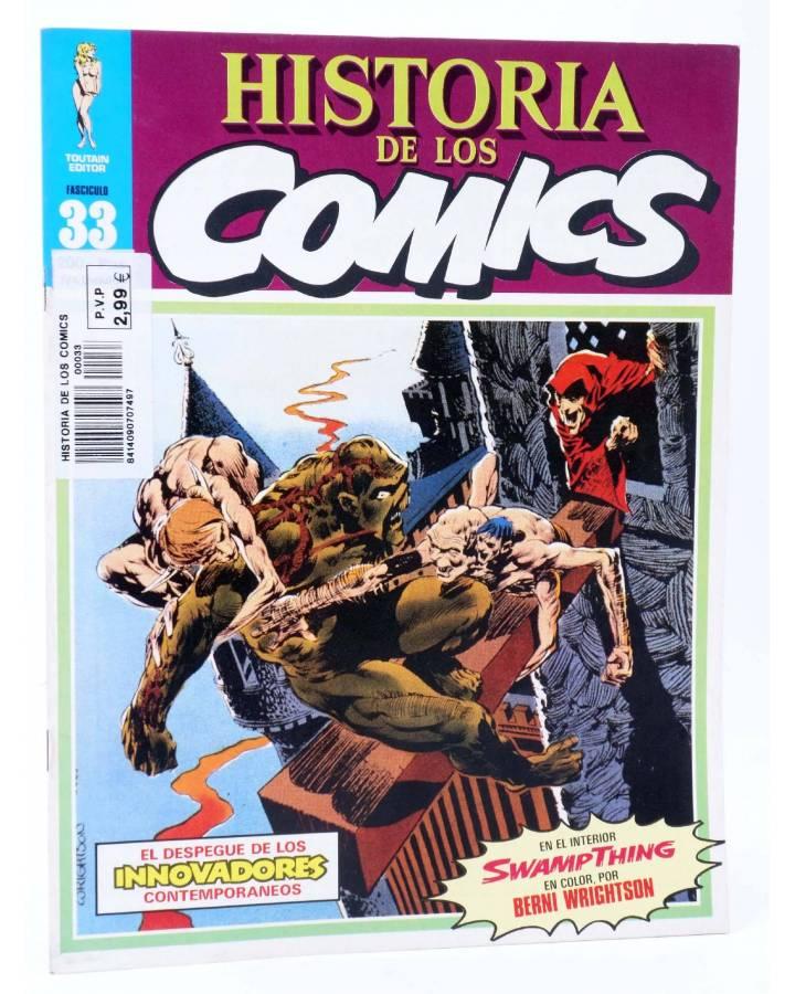 Cubierta de HISTORIA DE LOS COMICS FASCÍCULO 33. INNOVADORES CONTEMPORÁNEOS (Vvaa) Toutain 1982