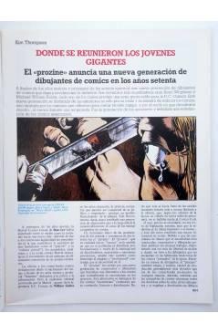 Muestra 1 de HISTORIA DE LOS COMICS FASCÍCULO 33. INNOVADORES CONTEMPORÁNEOS (Vvaa) Toutain 1982