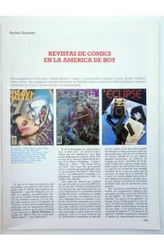 Muestra 1 de HISTORIA DE LOS COMICS FASCÍCULO 34. COMICS DE VANGUARDIA (Vvaa) Toutain 1982