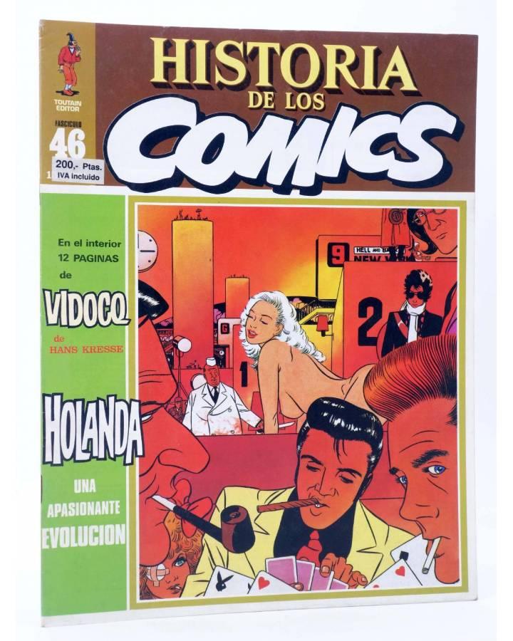 Cubierta de HISTORIA DE LOS COMICS FASCÍCULO 46. HOLANDA UNA APASIONANTE EVOLUCIÓN (Vvaa) Toutain 1982