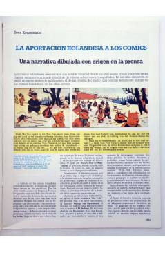 Muestra 1 de HISTORIA DE LOS COMICS FASCÍCULO 46. HOLANDA UNA APASIONANTE EVOLUCIÓN (Vvaa) Toutain 1982