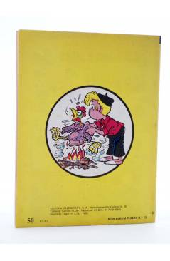 Contracubierta de MINI ÁLBUM PUMBY 12 (Vvaa) Valenciana 1983