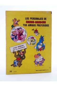 Contracubierta de MINI ÁLBUM PUMBY 14 (Vvaa) Valenciana 1984