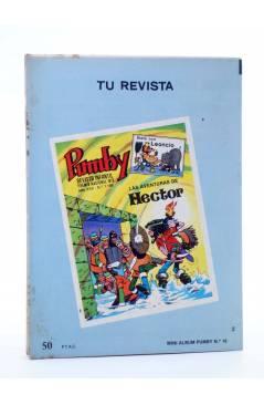 Contracubierta de MINI ÁLBUM PUMBY 16 (Vvaa) Valenciana 1984