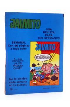 Contracubierta de MINI ÁLBUM PUMBY 17 (Vvaa) Valenciana 1984