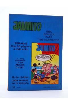 Contracubierta de MINI ÁLBUM PUMBY 18 (Vvaa) Valenciana 1984