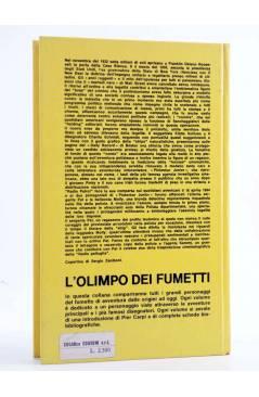 Contracubierta de L'OLIMPO DEI FUMETTI 5. RADIO PATTUGLIA (Eddie Sullivan / Charlie Schmidt) Sugar 1971