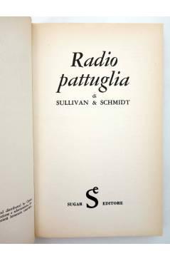 Muestra 1 de L'OLIMPO DEI FUMETTI 5. RADIO PATTUGLIA (Eddie Sullivan / Charlie Schmidt) Sugar 1971