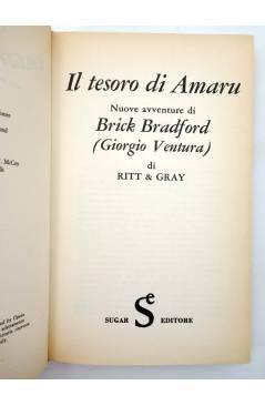 Muestra 1 de L'OLIMPO DEI FUMETTI 17. BRICK BRADFORD IL TESORO DI AMARU (William Ritt /Clarence Gray) Sugar 1973