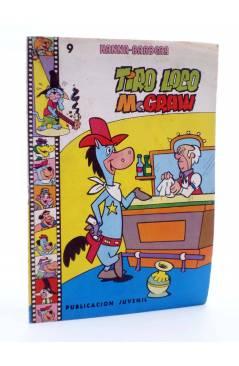 Cubierta de HANNA BARBERA PUBLICACIÓN JUVENIL 9. TIRO LOCO MC. GRAW. Ediprint 1983