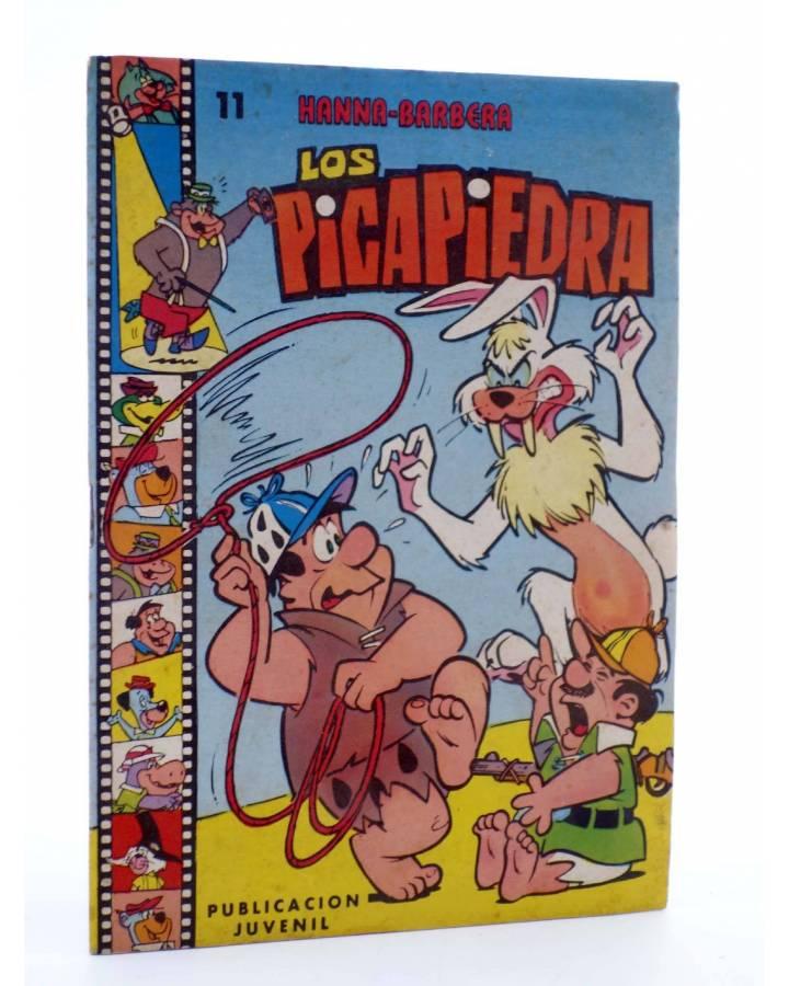 Cubierta de HANNA BARBERA PUBLICACIÓN JUVENIL 11. LOS PICAPIEDRA. Ediprint 1983