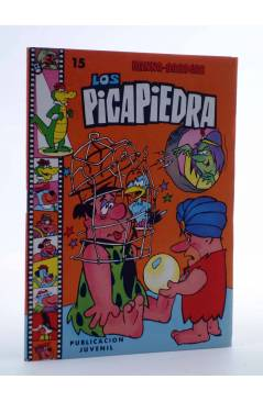 Cubierta de HANNA BARBERA PUBLICACIÓN JUVENIL 15. LOS PICAPIEDRA. Ediprint 1983