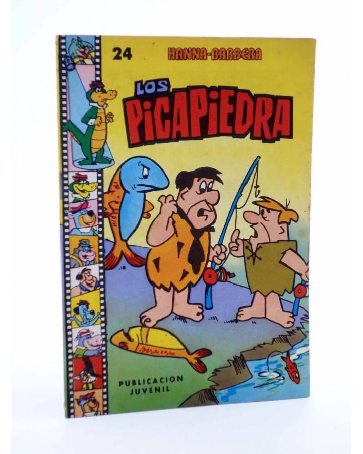 Cubierta de HANNA BARBERA PUBLICACIÓN JUVENIL 24. LOS PICAPIEDRA. Ediprint 1984