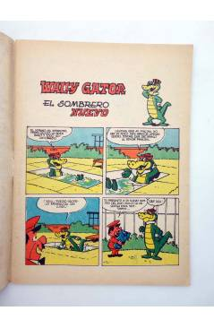 Muestra 1 de HANNA BARBERA PUBLICACIÓN JUVENIL 25. WALLY GATOR. Ediprint 1984