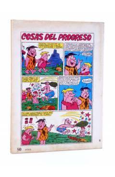 Contracubierta de HANNA BARBERA PUBLICACIÓN JUVENIL 26. PEPE PÓTAMO. Ediprint 1984
