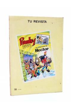 Contracubierta de HANNA BARBERA PUBLICACIÓN JUVENIL 27. LOS PICAPIEDRA. Ediprint 1984