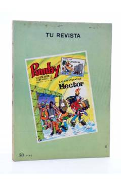 Contracubierta de HANNA BARBERA PUBLICACIÓN JUVENIL 29. HUCK. Ediprint 1984