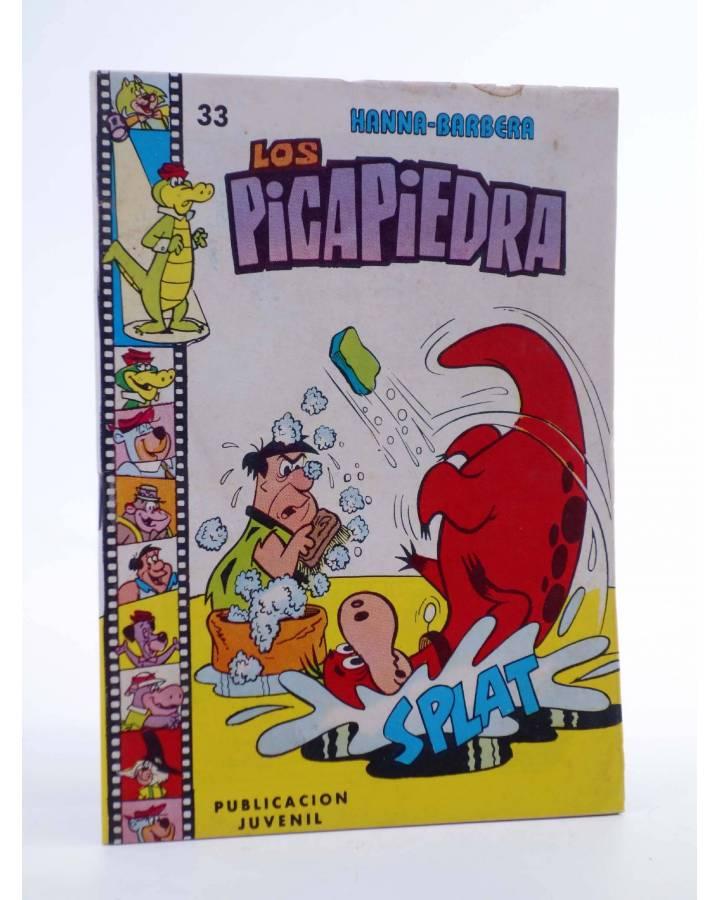 Cubierta de HANNA BARBERA PUBLICACIÓN JUVENIL 33. LOS PICAPIEDRA. Ediprint 1984